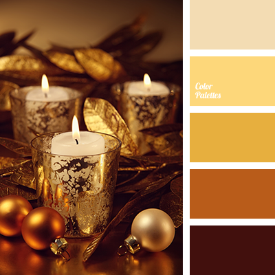 Gold Color Palette Ideas