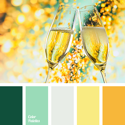 color palette 1820 - Green And Gold Color Scheme