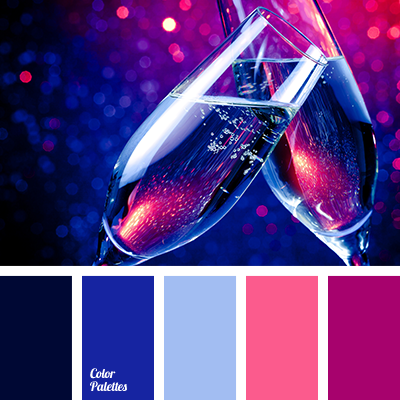 Lilac And Dark Blue Color Palette Ideas
