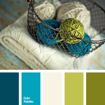 Lime Green And Blue Color Palette Ideas
