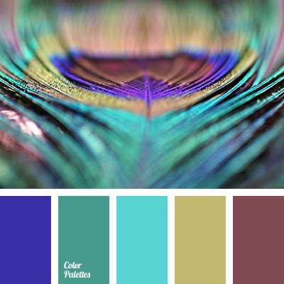 Color Palette 1848 Blue And