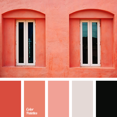 coral and pink color palette ideas