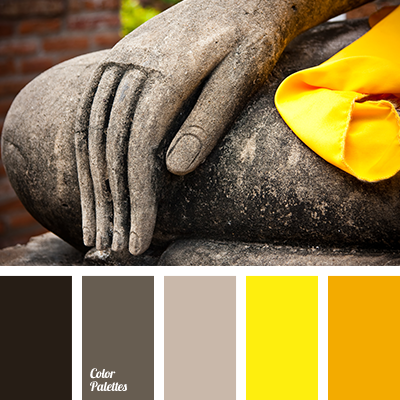 Color Of Mustard And Gray Lilac Color Palette Ideas