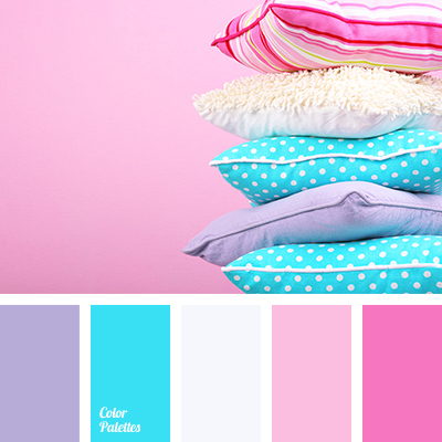 White and blue color palette ideas Good color combination for pink