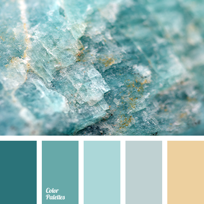 Color Palette 1925 Blue And Emerald