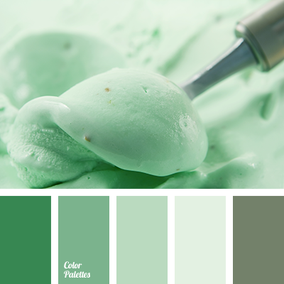 Pastel Shades Of Green Color Palette Ideas