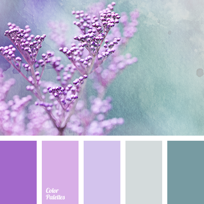 Cool shades of lilac color palette ideas for Purple mauve color