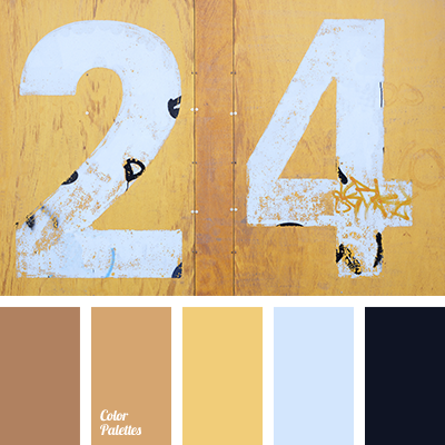 shades of saffron yellow | color palette ideas