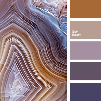 beige and violet