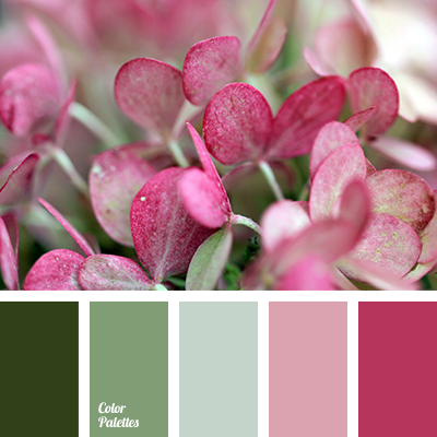 Green And Peach Color Palette Ideas