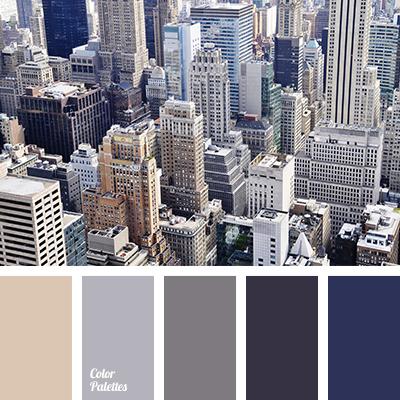 beige and dark blue