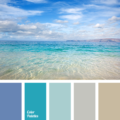 color of sand and dark blue