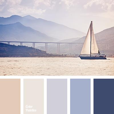 violet and dark blue