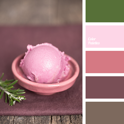color of raspberry ice cream