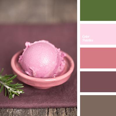 color of raspberry ice cream