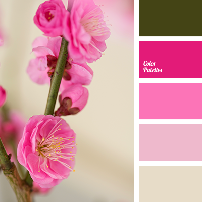Pink and green color palette ideas - Combination of green and pink ...
