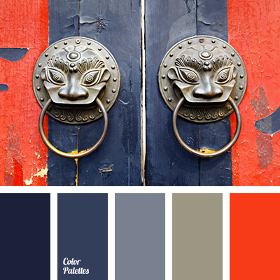 Color Palette 2044 Dark Blue And Gray