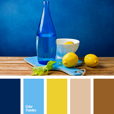 Blue And Yellow Color Palette Ideas