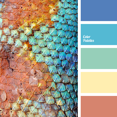 Color Palette 2061 Blue And Brown