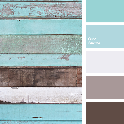 brown and turquoise | color palette ideas