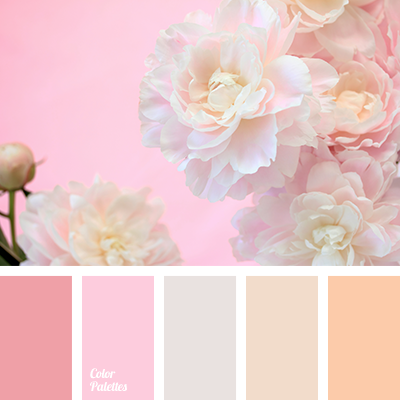 gentle palette for a wedding
