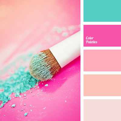 Pink And Emerald Green Color Palette Ideas