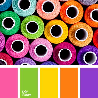 Violet And Orange Color Palette Ideas