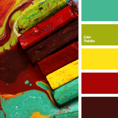 Burgundy And Yellow Color Palette Ideas