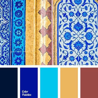 dark blue and light blue