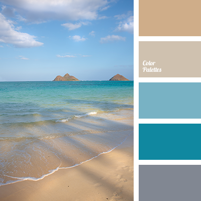 Shades of sea water color palette ideas for Ocean blue color combinations