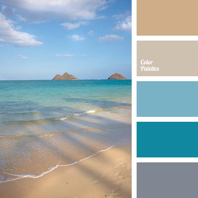 shades of sea water