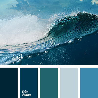 Pale Dark Blue Color Palette Ideas