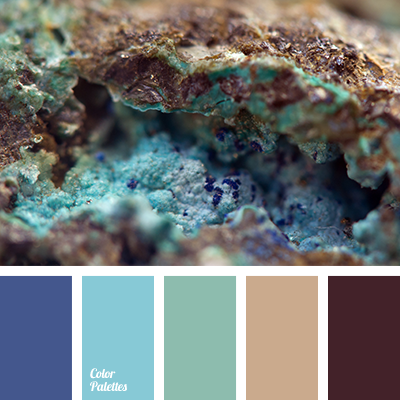 palette of natural shades