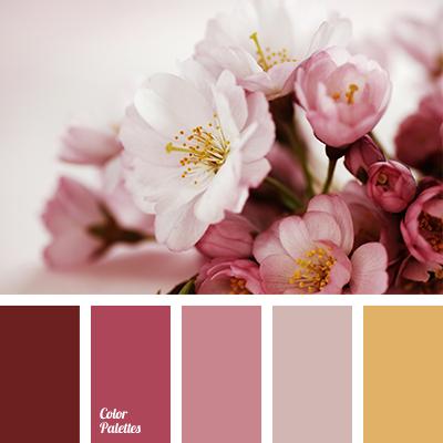 shades of ash-pink
