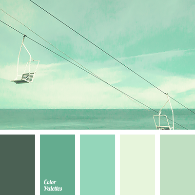 shades of mint color