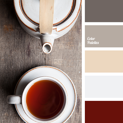 shades of gray and brown