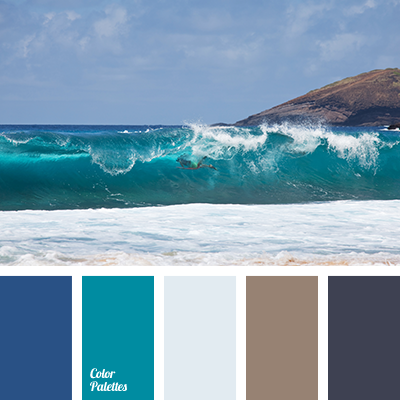 color of ocean color palette ideas