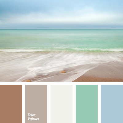 Color of ocean color palette ideas for Ocean blue color combinations