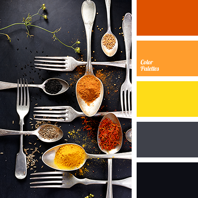 shades of spices