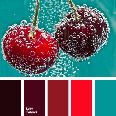 Contrasting combination color palette ideas - Burgundy and blue color scheme ...