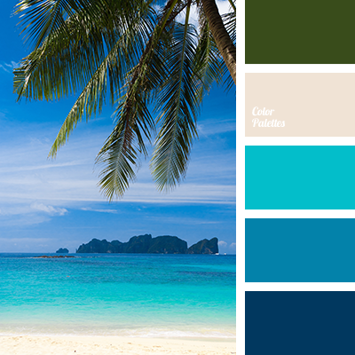 Aquamarine Color Palette Ideas