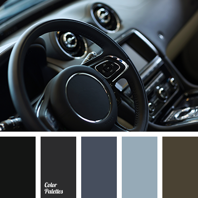 monochrome grey color palette