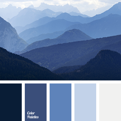 Blue Monochromatic Color Scheme monochrome blue color palette | color palette ideas