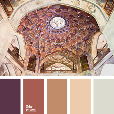 Color Palette 2331 Beige And Brown