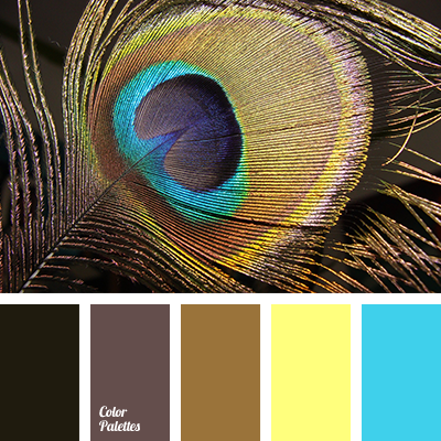 Ochre color palette ideas - Light blue brown color scheme ...
