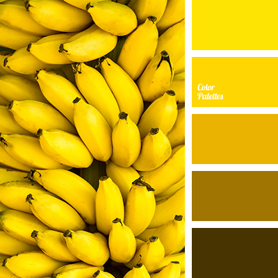 yellow banana color