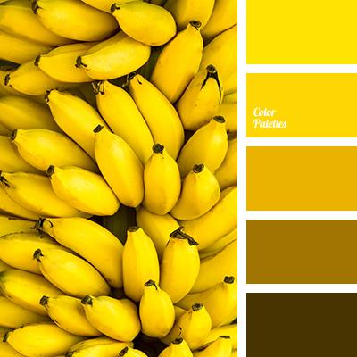 yellow banana color
