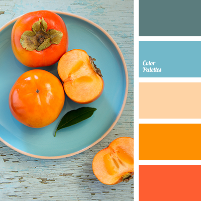 Gallery for peach and yellow color palette - Peach color paint palette ...
