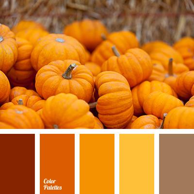 shades of orange