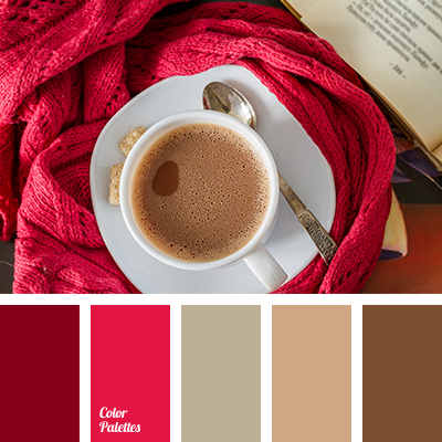 Burgundy page 2 of 17 color palette ideas - Brown and maroon color scheme ...